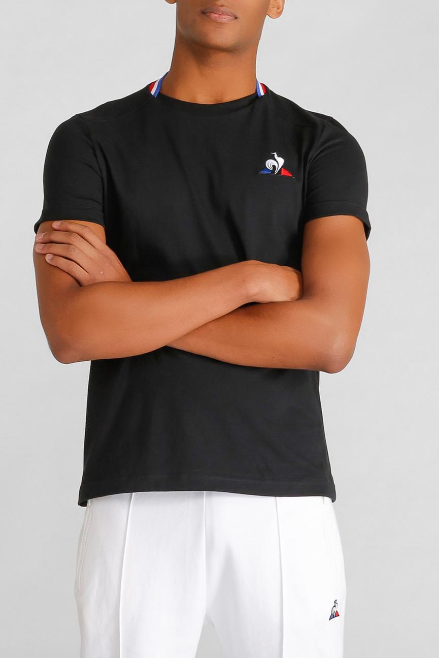 Мужская черная футболка ESS TEE SS N9