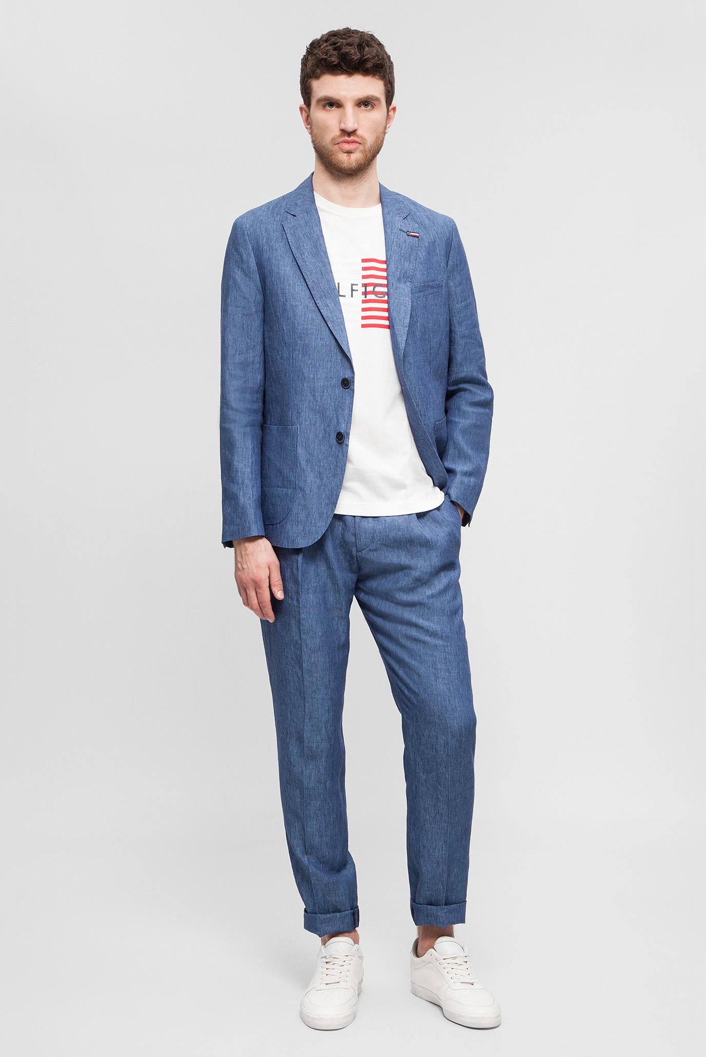 Купить Мужской синий пиджак Tommy Hilfiger Tommy Hilfiger TT0TT03052 – Киев, Украина. Цены в интернет магазине MD Fashion