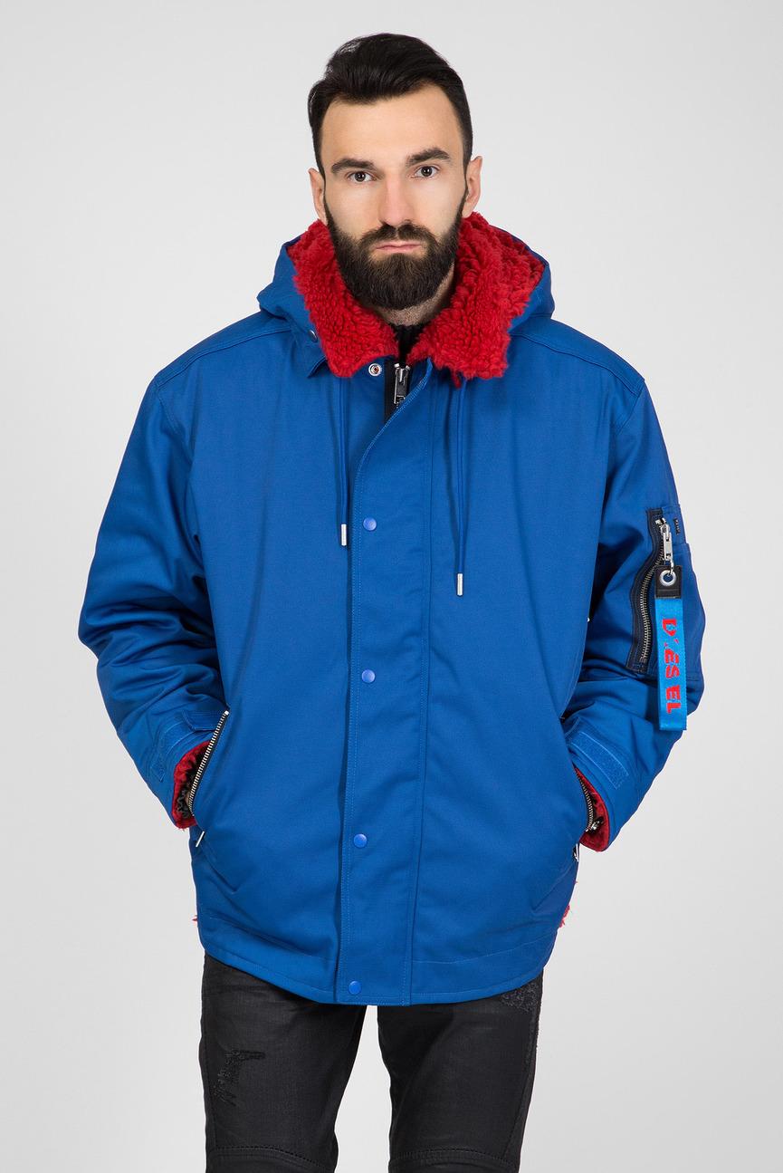 Мужская синяя куртка W-PELLY GIACCA