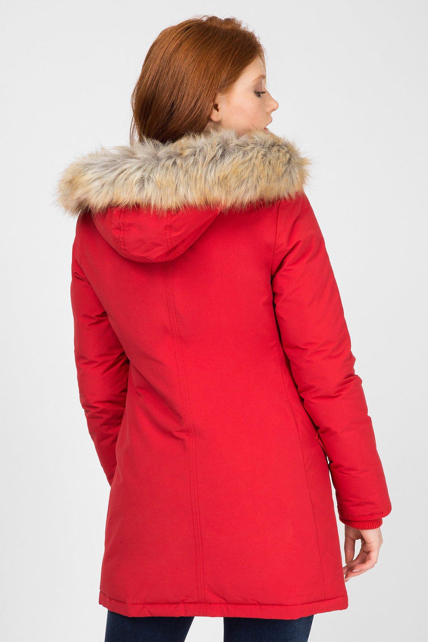 Купить Женская красная пуховая парка Tommy Hilfiger Tommy Hilfiger DW0DW05165 – Киев, Украина. Цены в интернет магазине MD Fashion