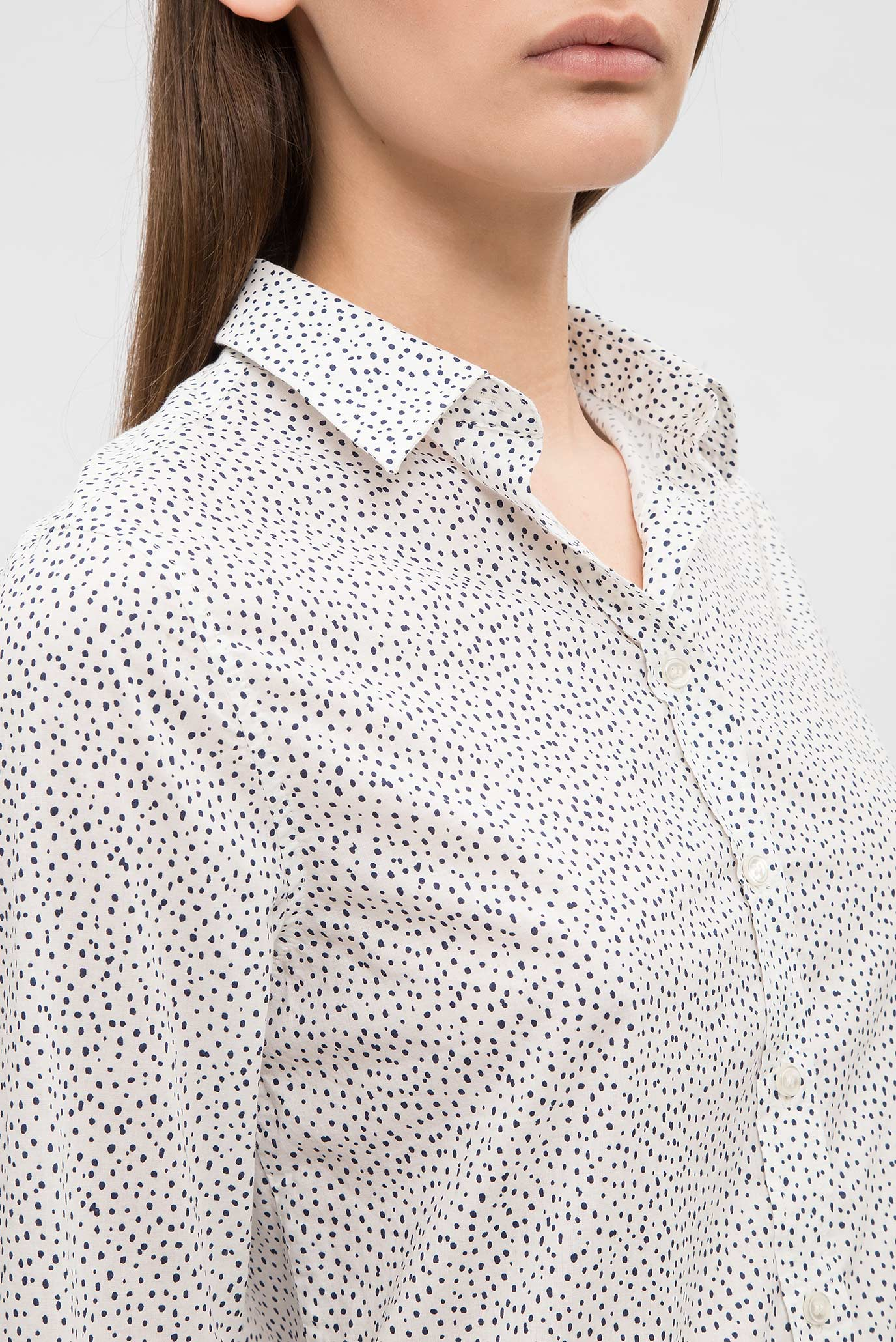 Купить Женская белая рубашка Gant Gant 4320032 – Киев, Украина. Цены в интернет магазине MD Fashion