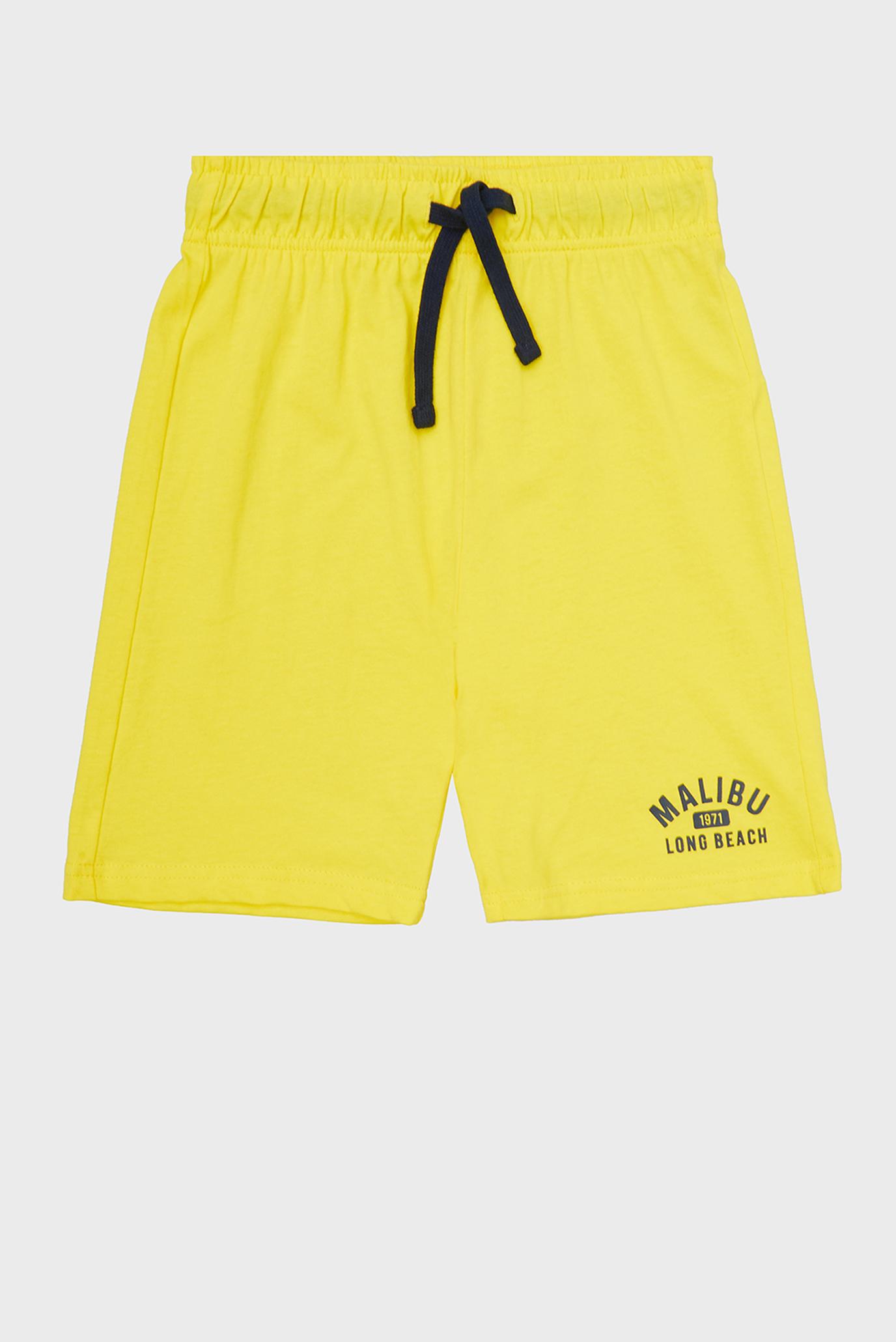 Детские желтые шорты 1
