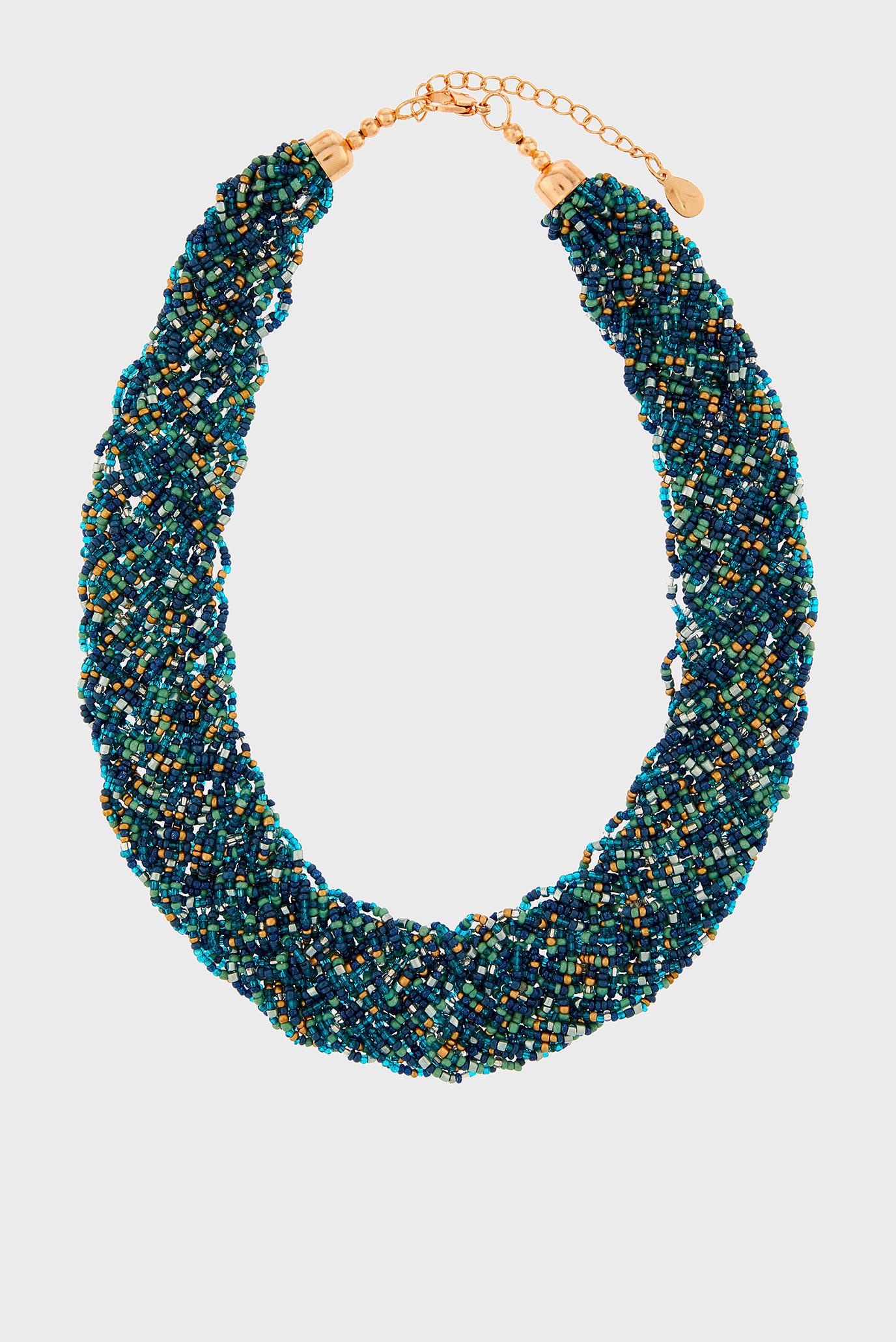 Жіноче зелене намисто 1