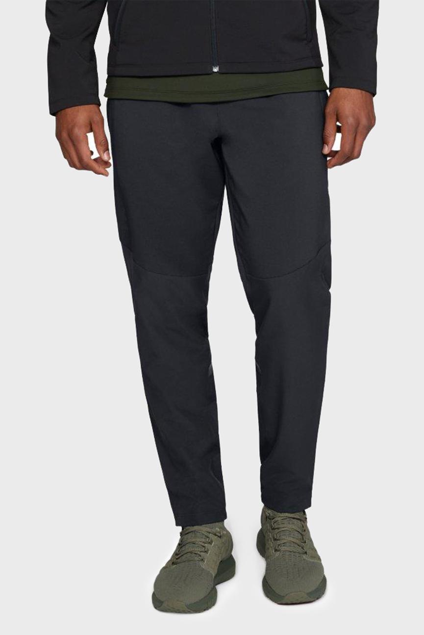 Мужские черные спортивные брюки StormCyclone