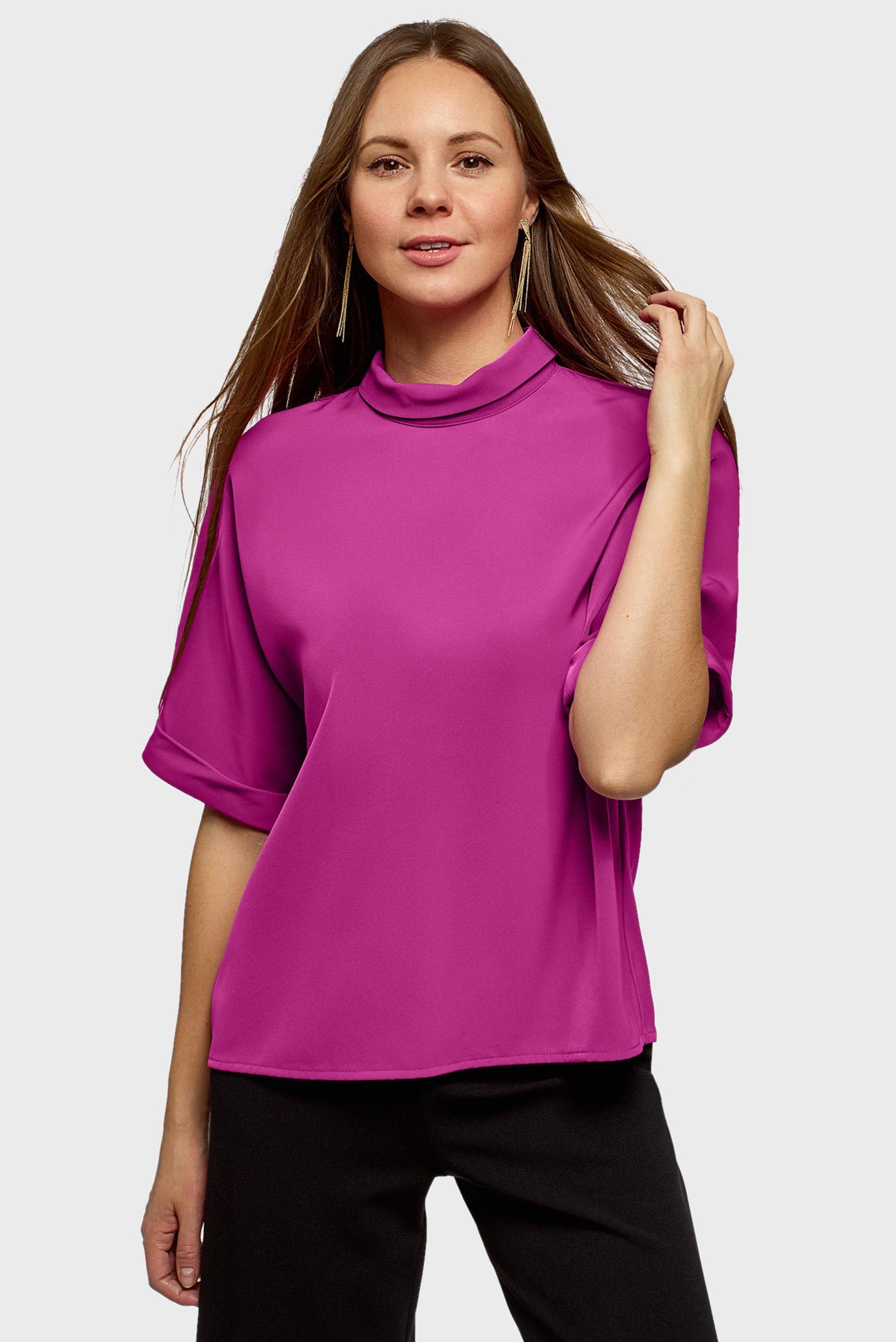 Женская малиновая блуза 1