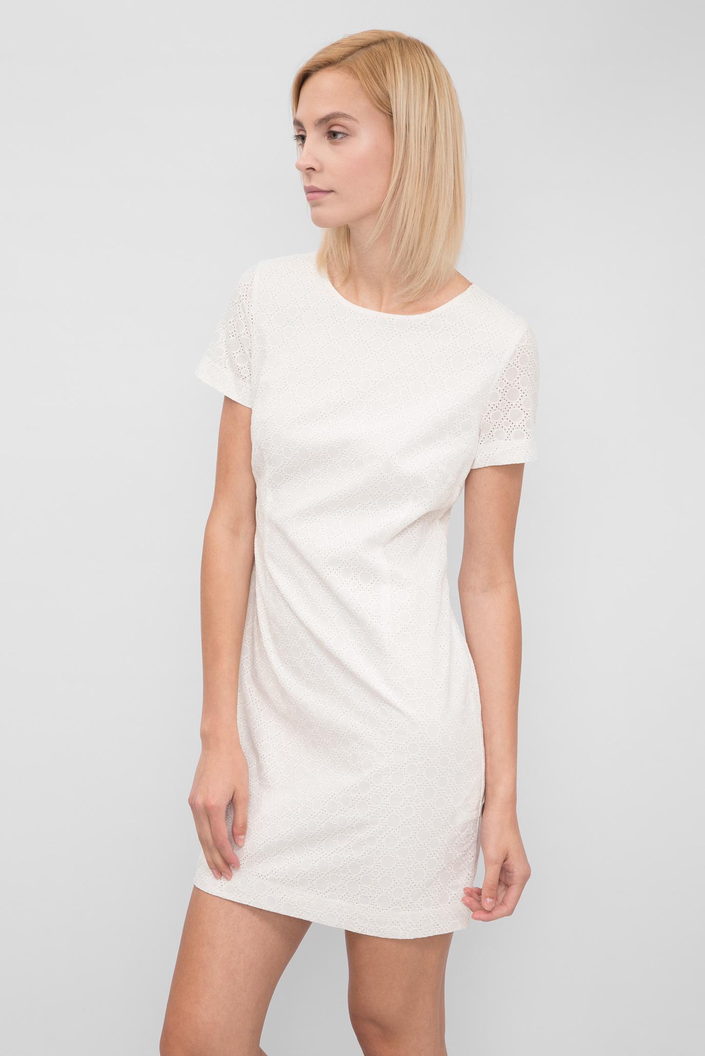63994c409fa Купить Женское бежевое платье с вышивкой Gant Gant 450866 – Киев ...