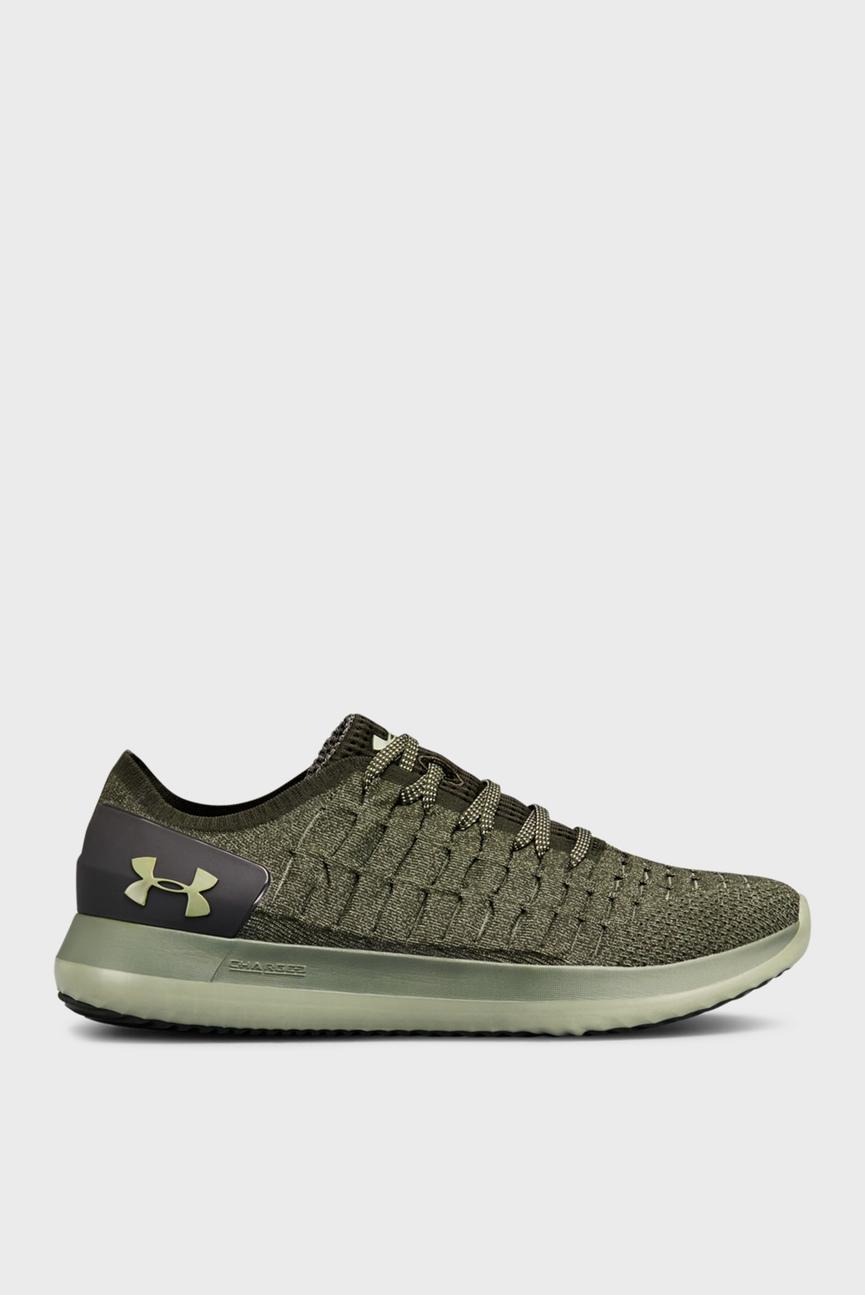 Мужские зеленые кроссовки UA Slingride 2
