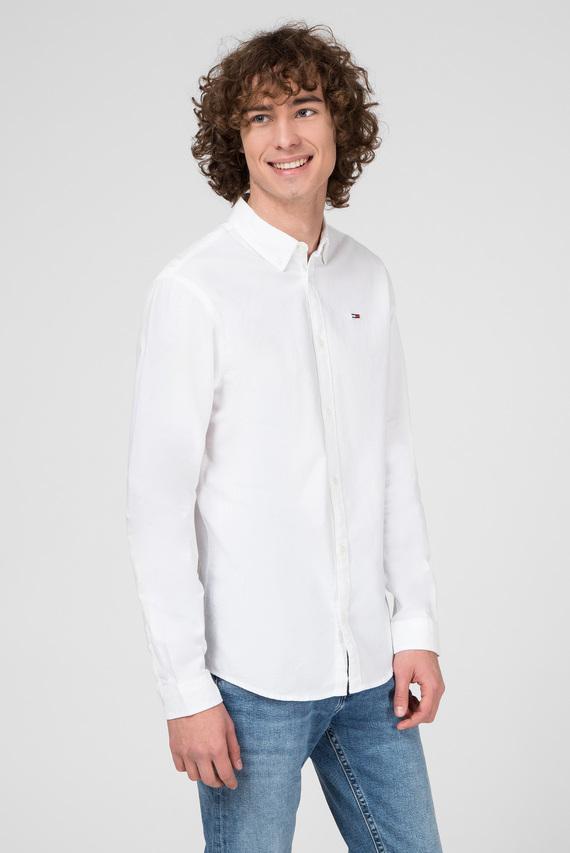 Мужская белая рубашка TJM STRETCH OXFORD