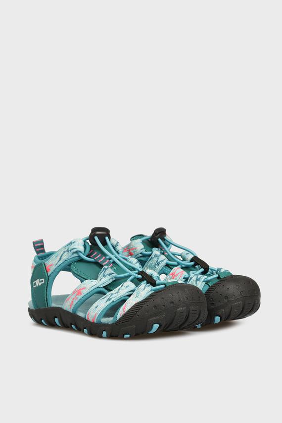 Детские бирюзовые сандалии