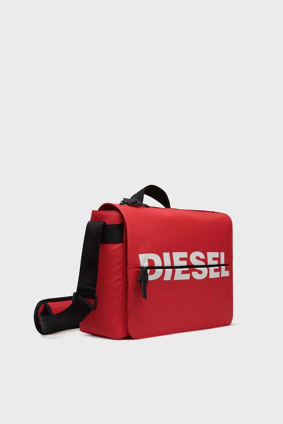 Мужская красная сумка для ноутбука BOLDMESSAGE / F-BOLD MESSENGER II