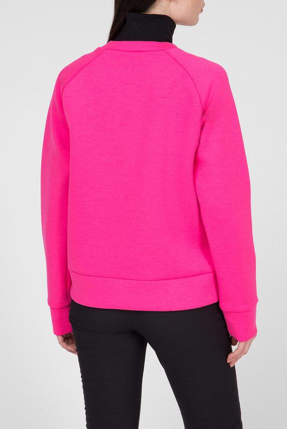 Женский розовый свитшот
