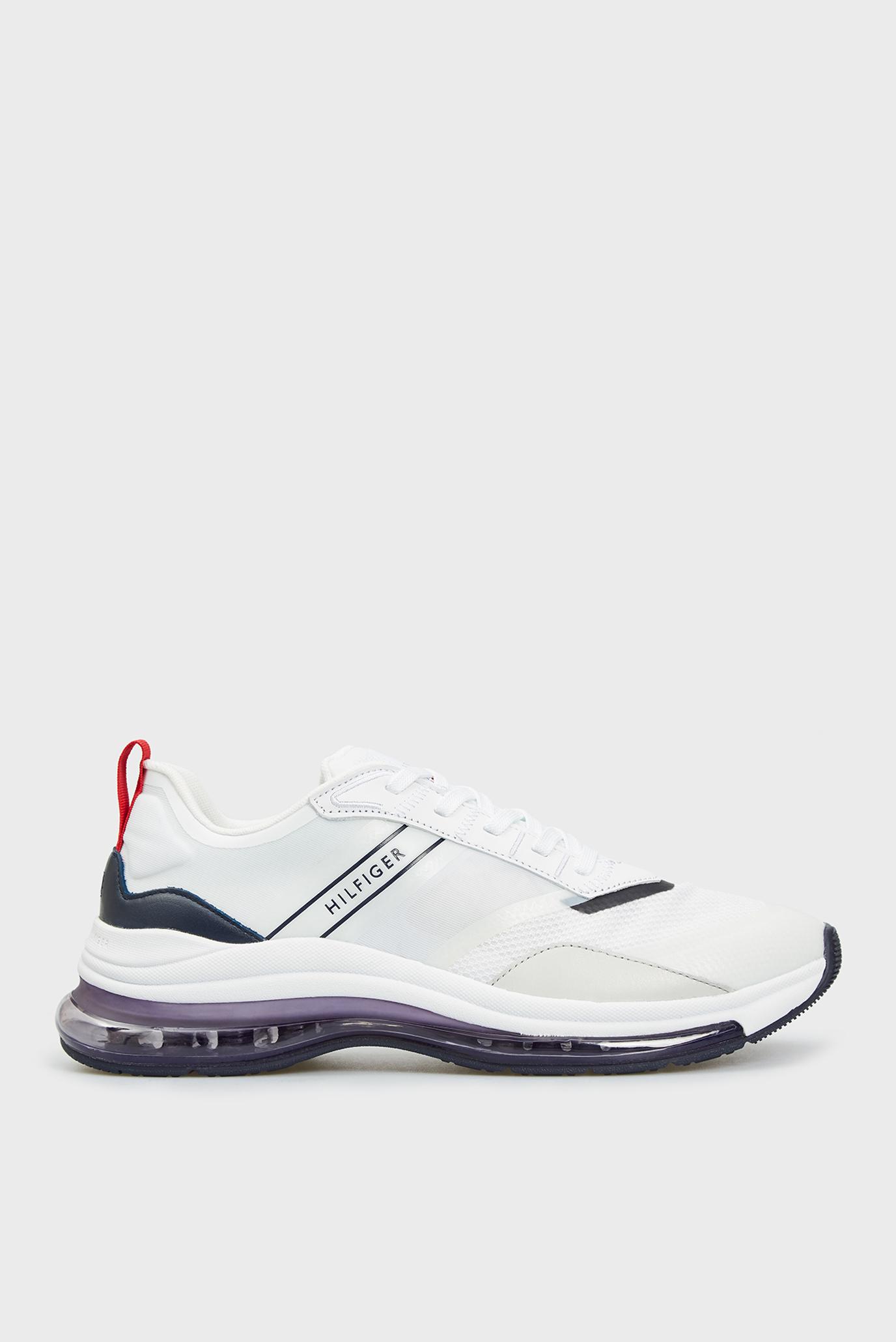 Мужские белые кроссовки AIR RUNNER MIX 1