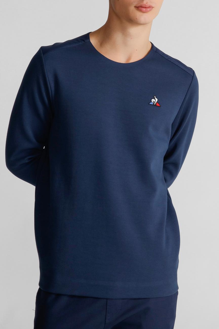 Мужской синий свитшот ESS CREW SWEAT N2
