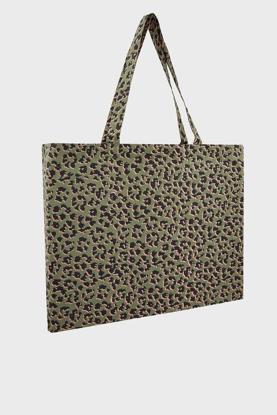 Женская сумка на плечо BE WILD ANIMAL ORGANIC SHOPPER