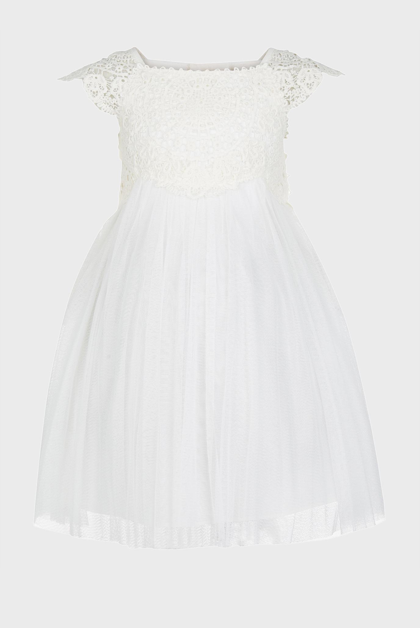 Детское белое платье Estella Monsoon Children