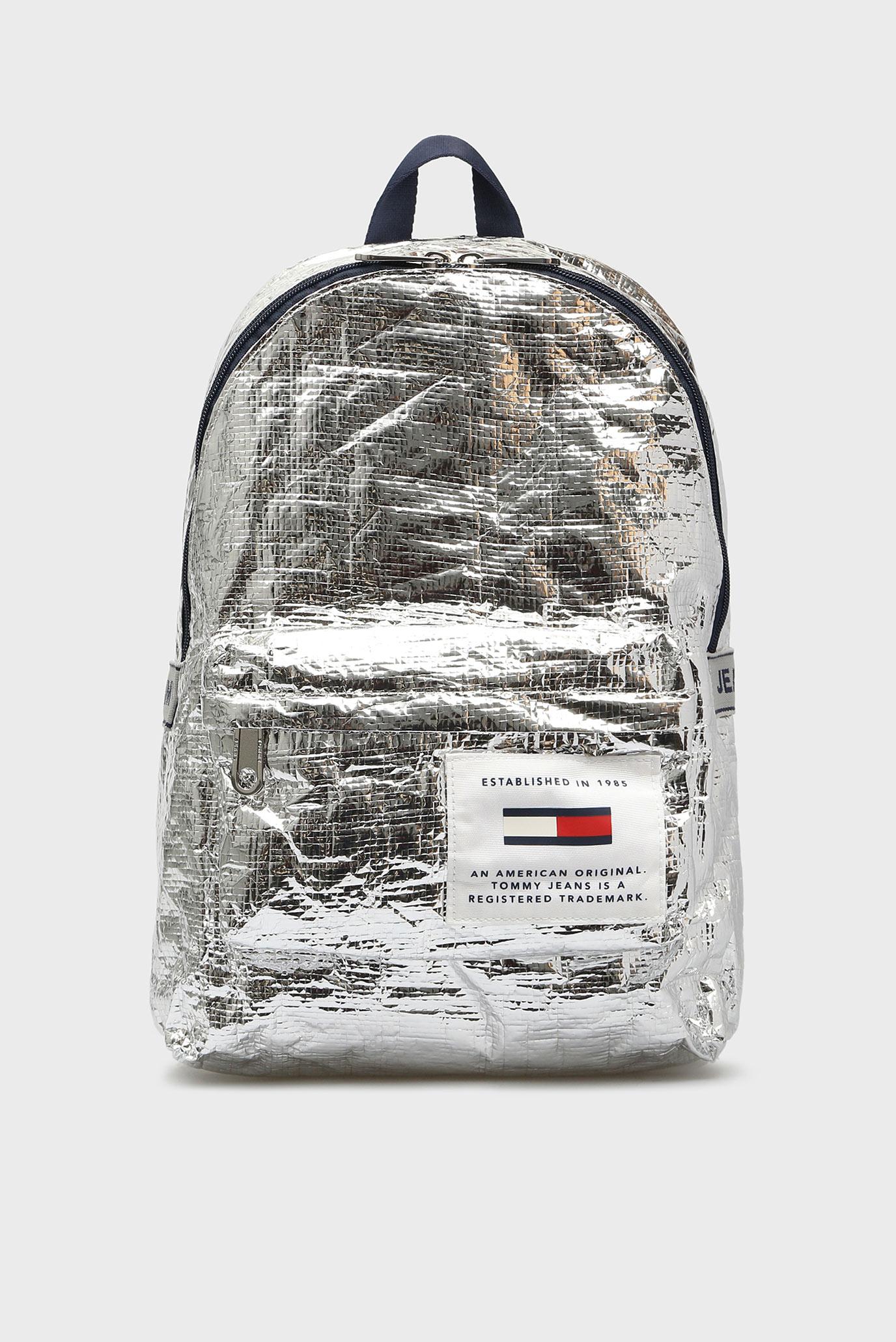 a7211f2e37e Купить Серебристый рюкзак TJU LOGO TAPE MED Tommy Hilfiger Tommy Hilfiger  AU0AU00462 – Киев, Украина. Цены в ...