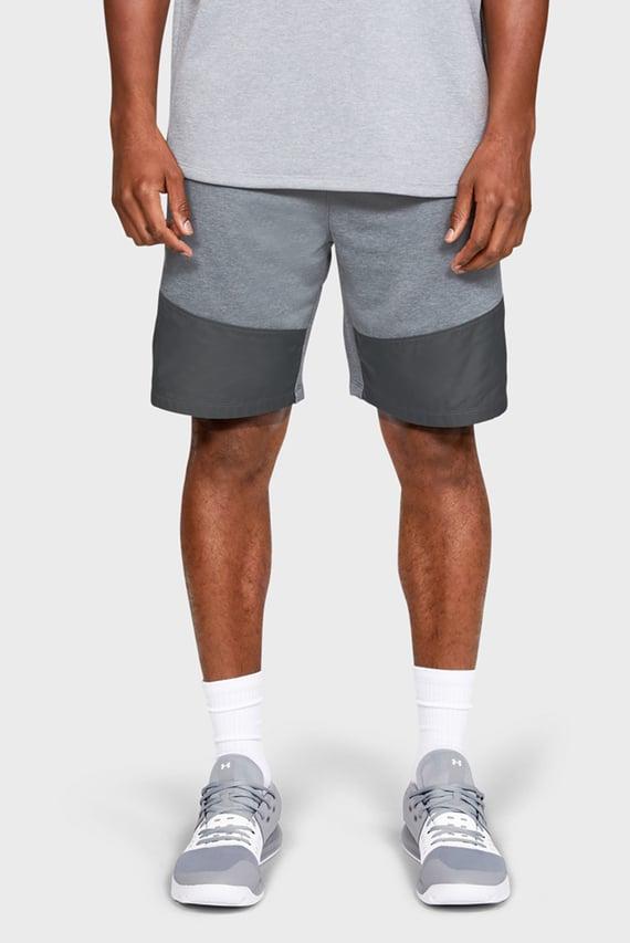 Мужские серые спортивные шорты UA MK-1 Terry