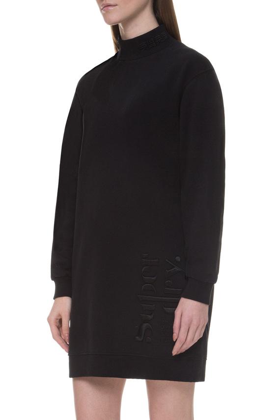 Женское черно платье