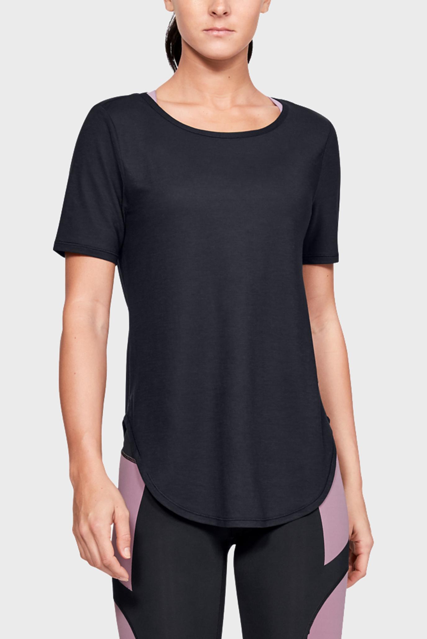 Купить Жеская черная футболка Perpetual SS Under Armour Under Armour 1328821-001 – Киев, Украина. Цены в интернет магазине MD Fashion