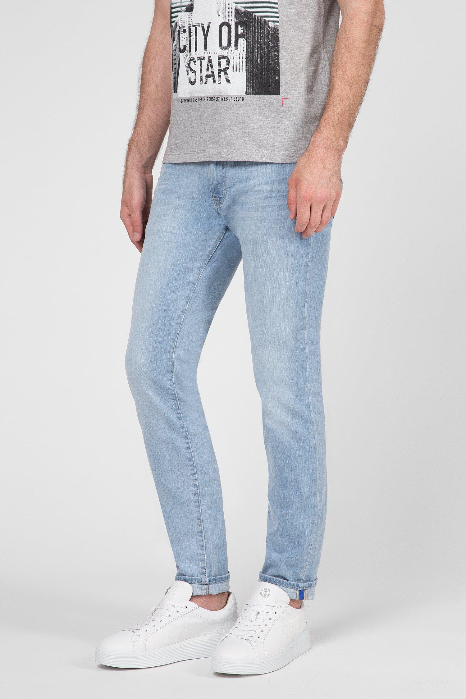 Мужские голубые джинсы Gas