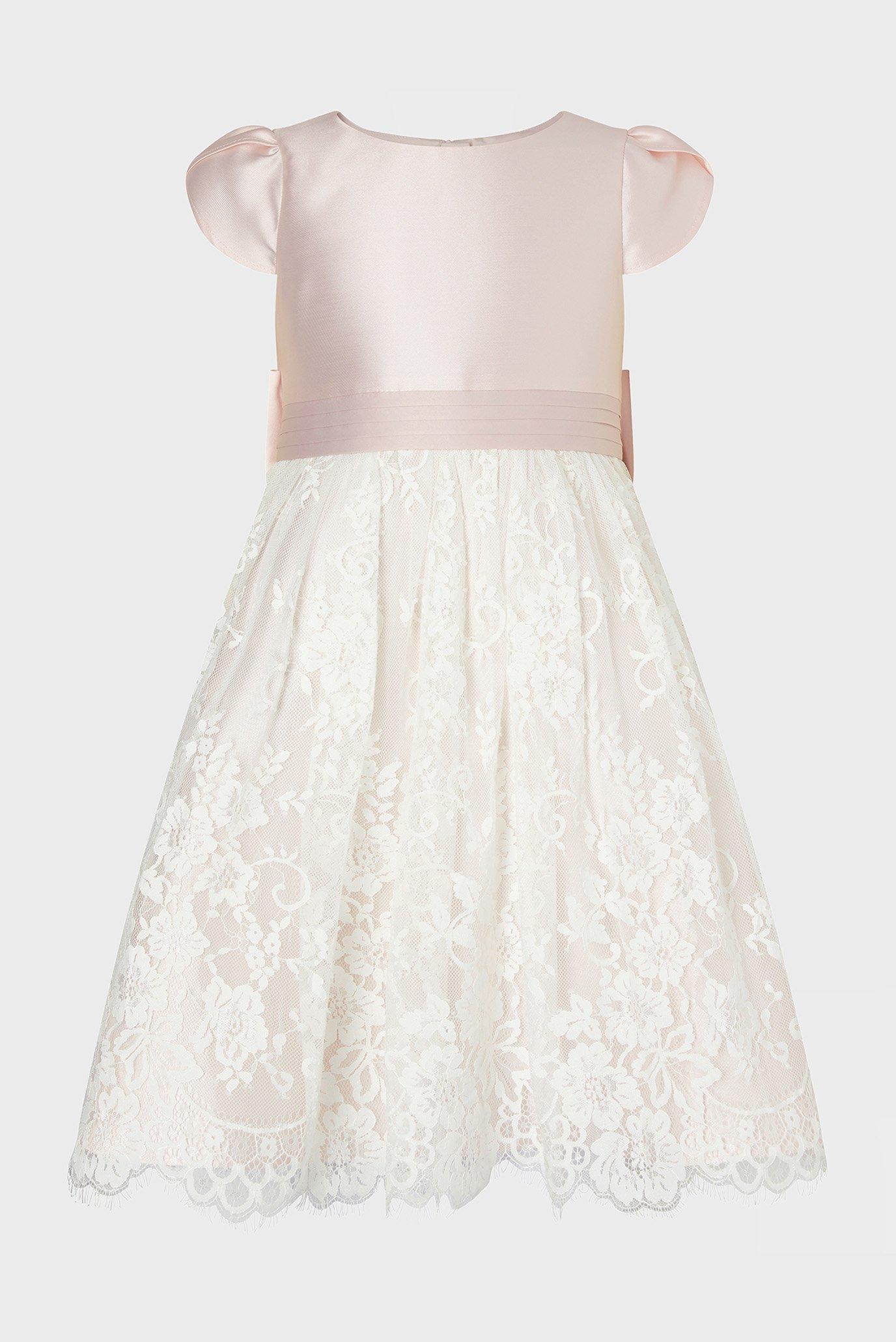 Дитяча сукня PINK LACE BRIDESMAID 1