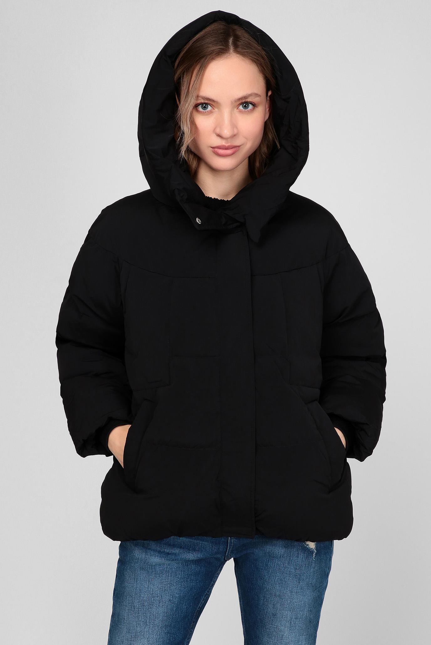 Жіноча чорна куртка 1