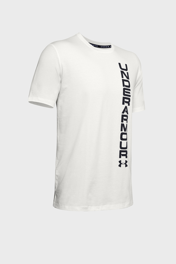 Мужская белая футболка SPORTSTYLE BLOCKED