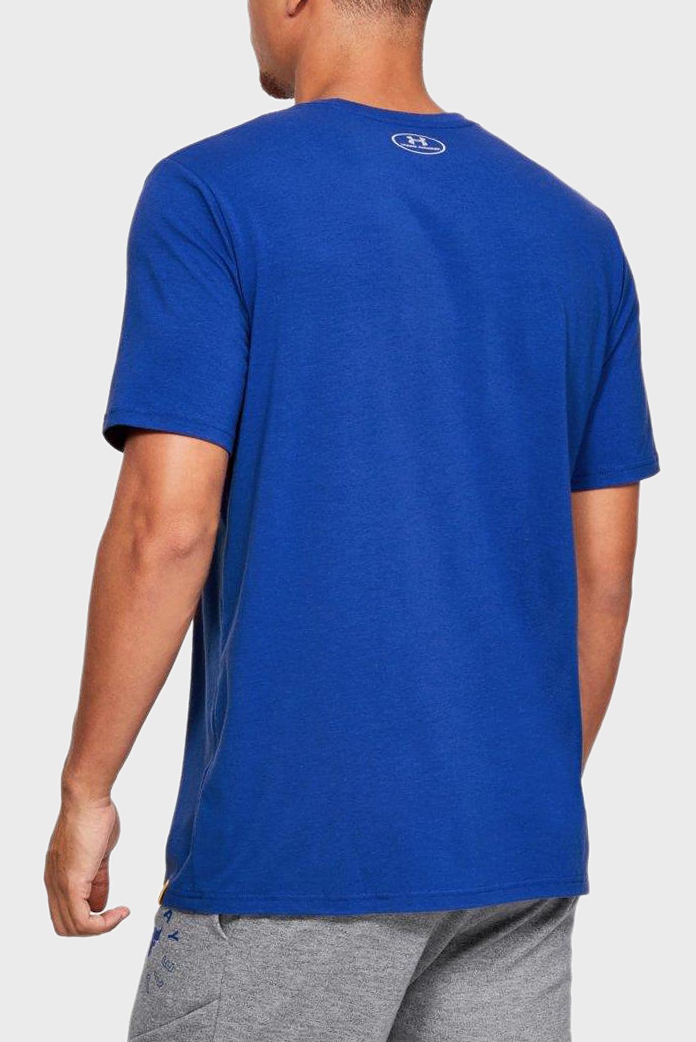 Купить Мужская синяя футболка PROJECT ROCK GET TO WORK Under Armour Under Armour 1345574-400 – Киев, Украина. Цены в интернет магазине MD Fashion