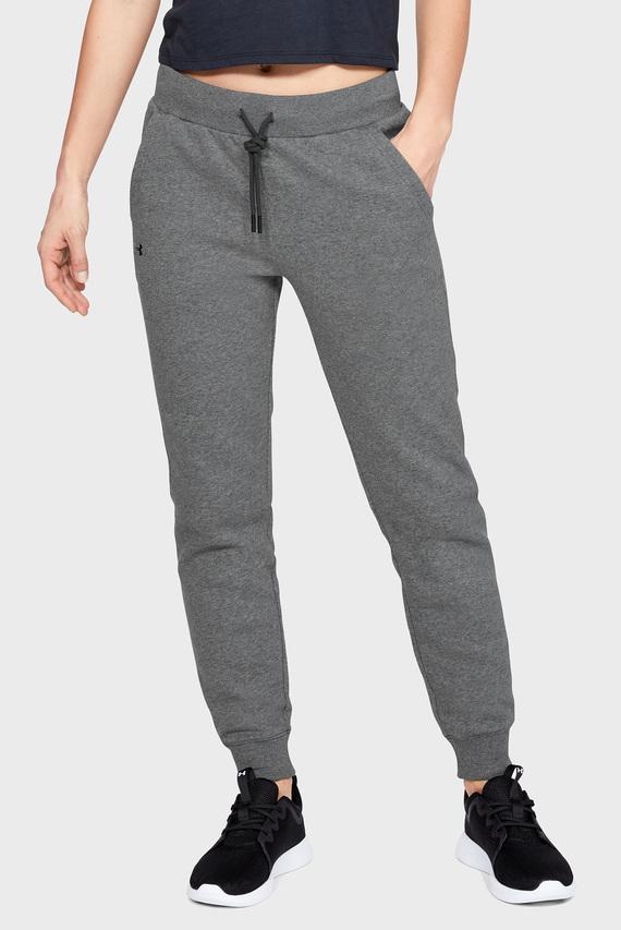 Женские серые спортивные брюки RIVAL FLEECE SOLID