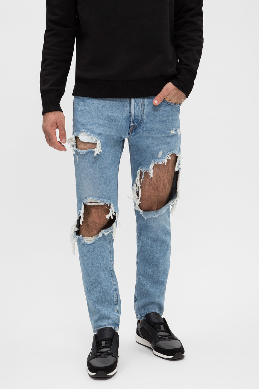 Мужские голубые джинсы MHARKY