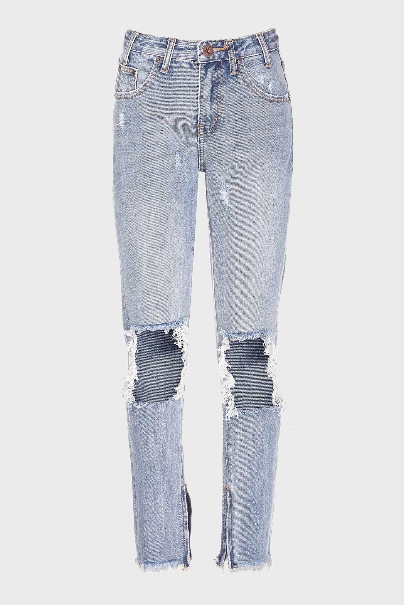 Купить Женские голубые джинсы HIGH WAIST FREEBIRDS One Teaspoon One Teaspoon 19488 – Киев, Украина. Цены в интернет магазине MD Fashion