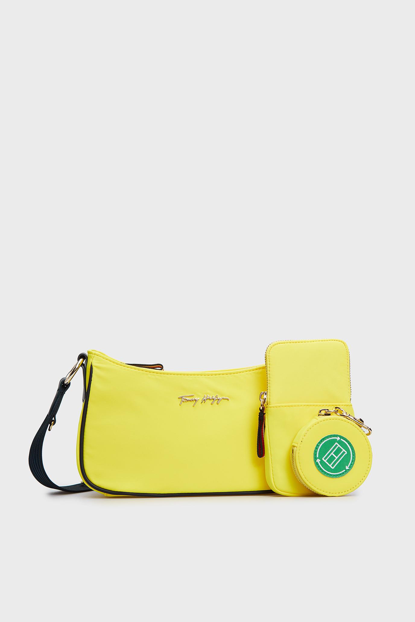 Женская желтая сумка NEON TOMMY CROSSOVER 1