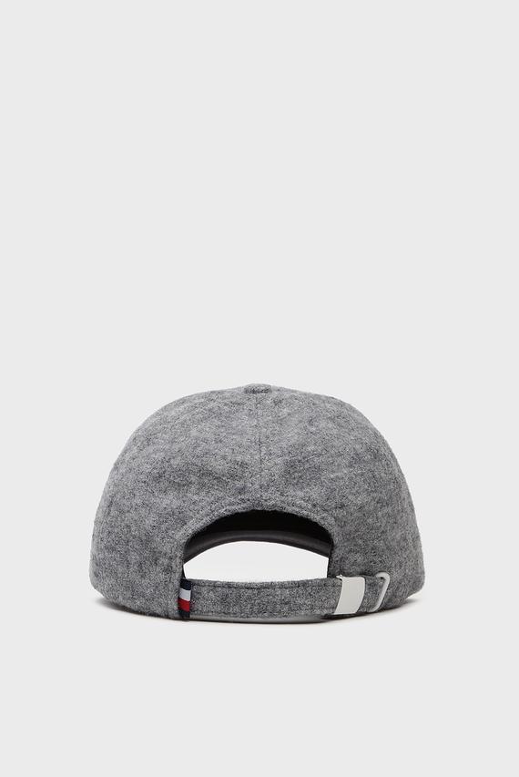 Женская серая кепка MELTON