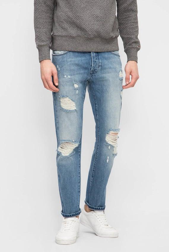Чоловічі сині джинси STRAIGHT SLATER CLBLRIDE
