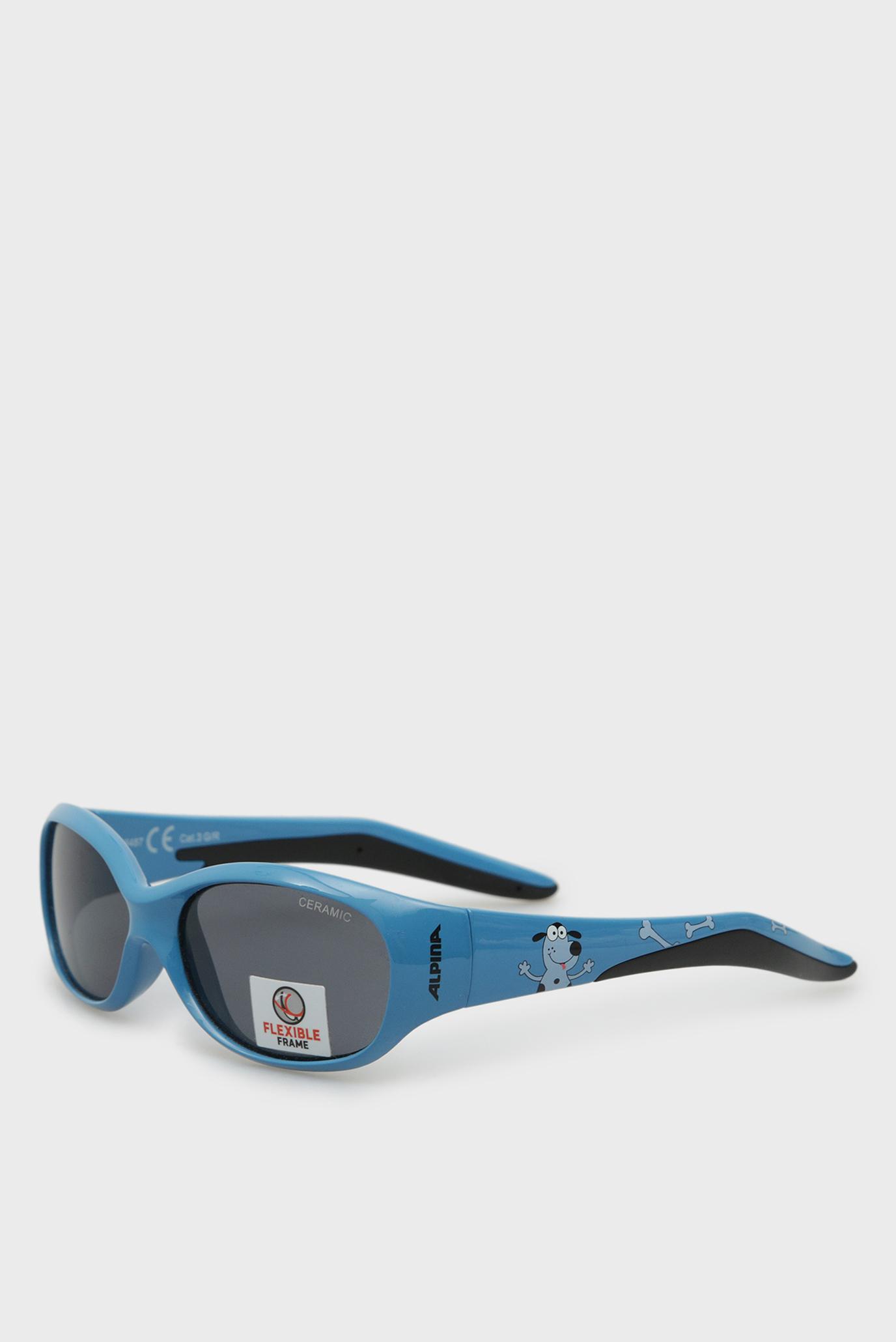 Дитячі сині сонцезахисні окуляри Flexxy Kids 1