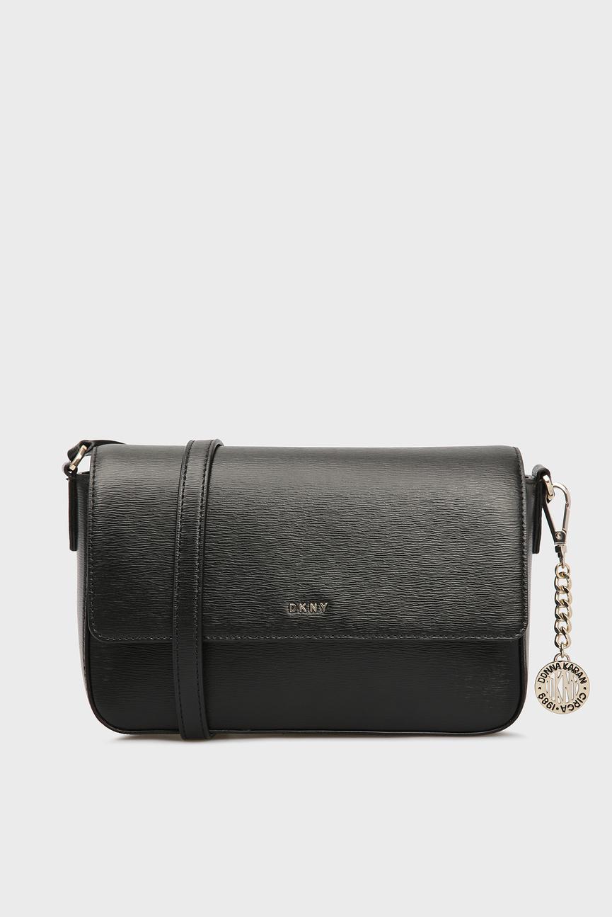 Женская черная сумка через плечо BRYANT-MD