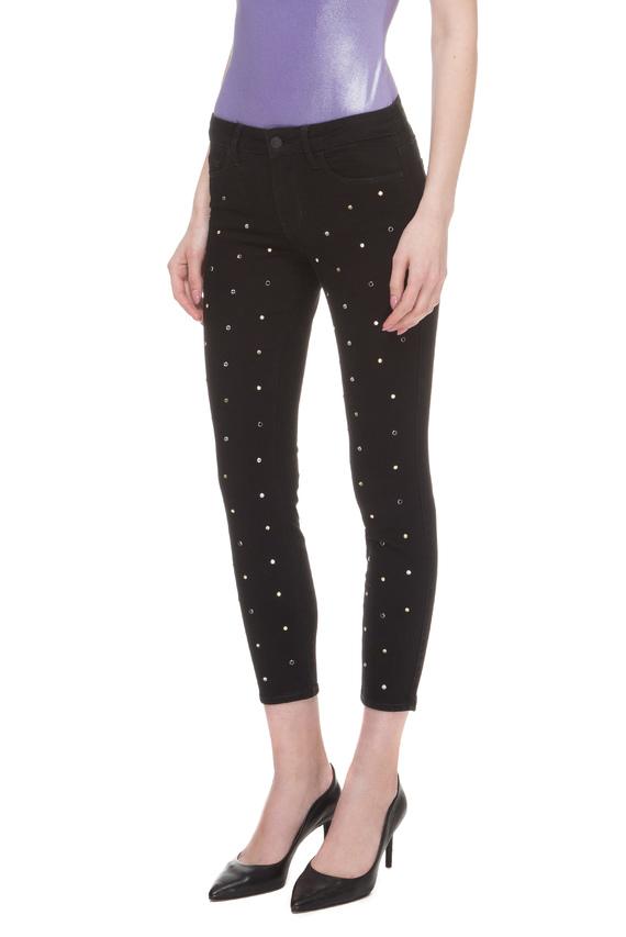 Женские черные джинсы SEXY CURVE