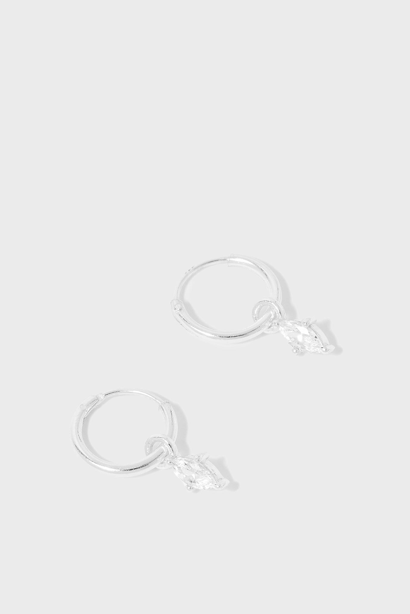 Женские серебряные серьги STNAVETTEHUGGIES 1