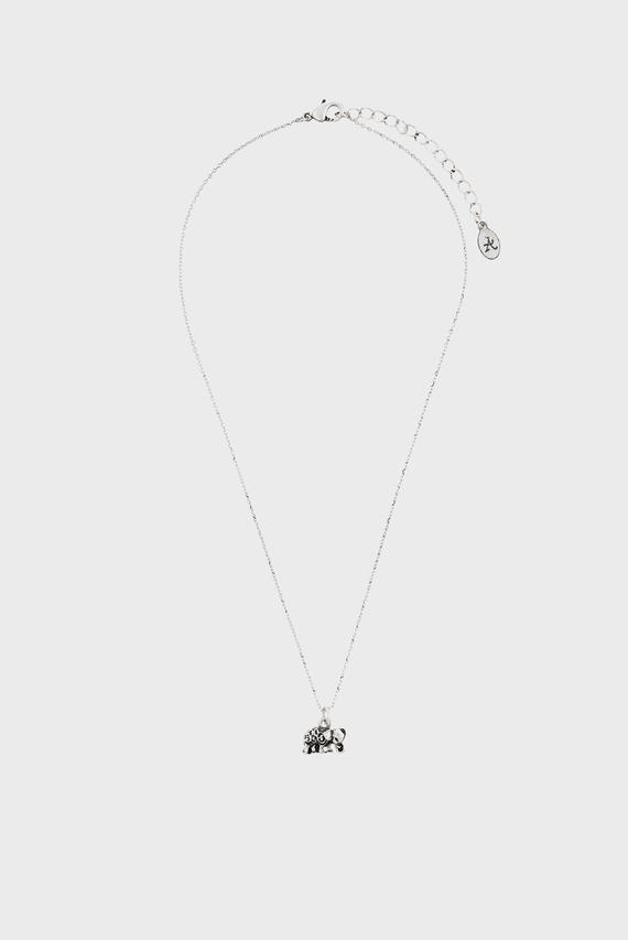 Женская серебристая подвеска ELEPHANT PENDANT