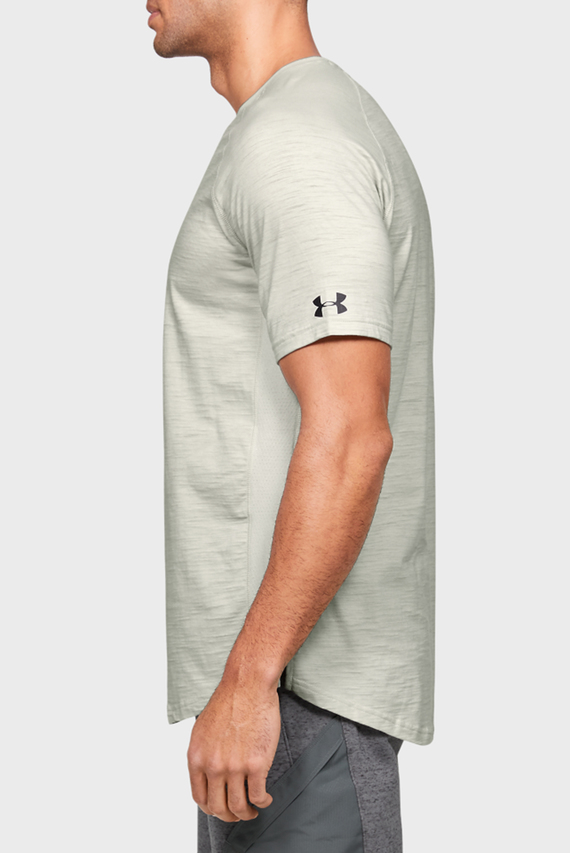 Мужская бежевая футболка Project Rock Charged Cotton SS