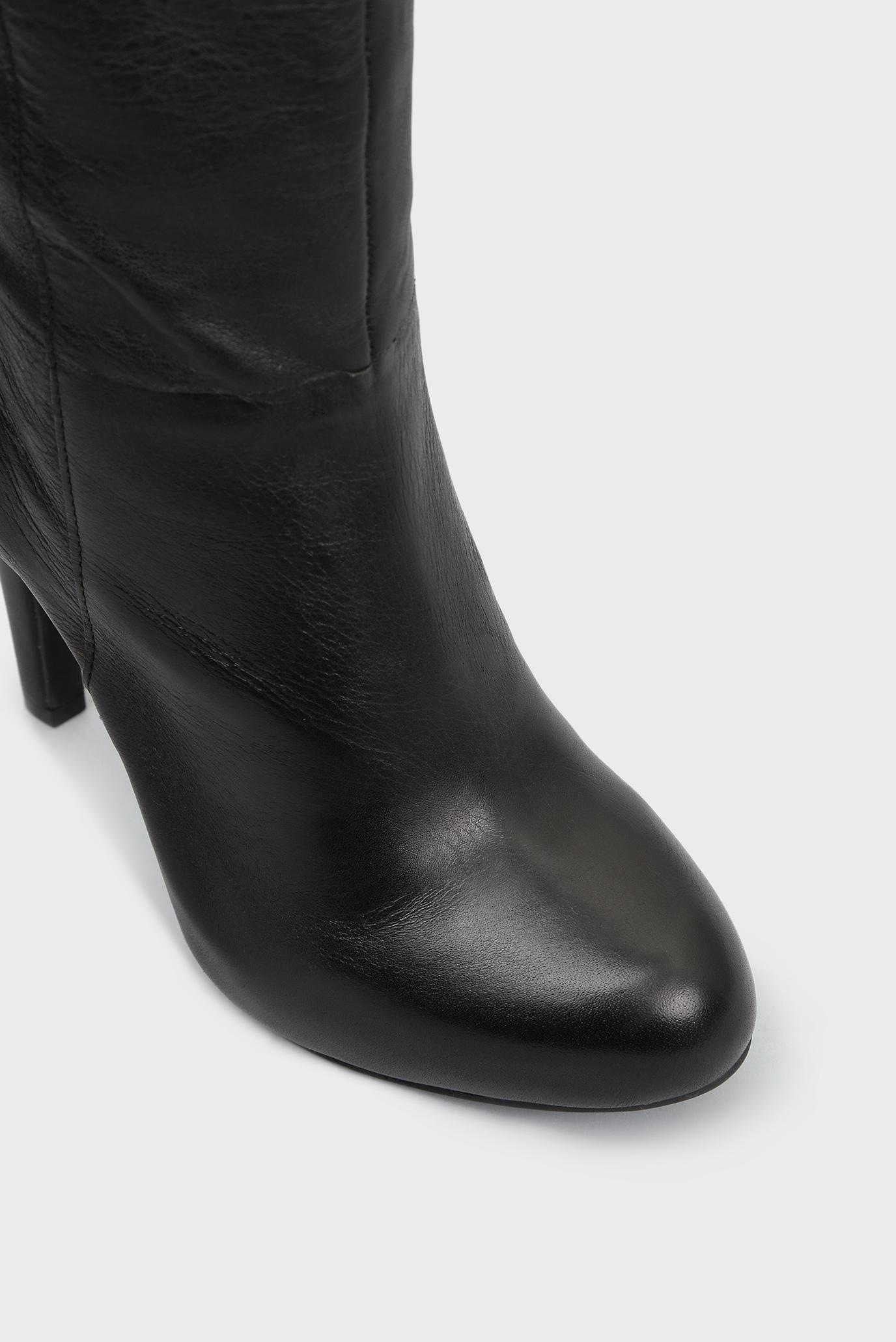 Купить Женские черные кожаные сапоги Jessica Simpson Jessica Simpson JS-AUDREY2001ALLEFS – Киев, Украина. Цены в интернет магазине MD Fashion