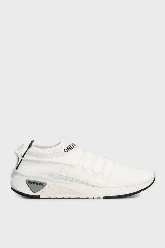 Мужские белые кроссовки SKB