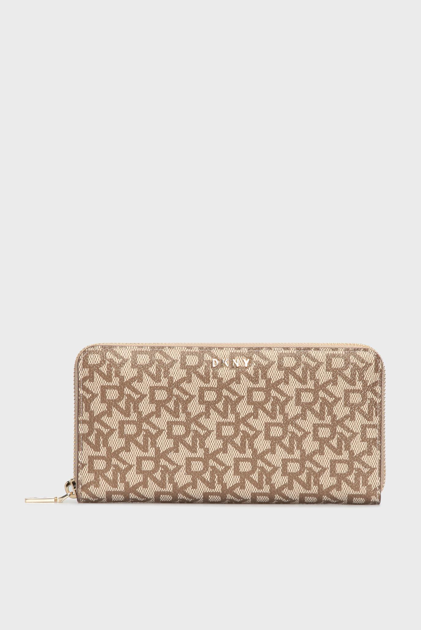 Жіночий бежевий гаманець з візерунком BRYANT 1