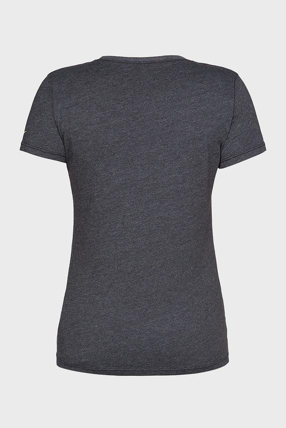 Женская темно-серая футболка RA GRAPHIC SS