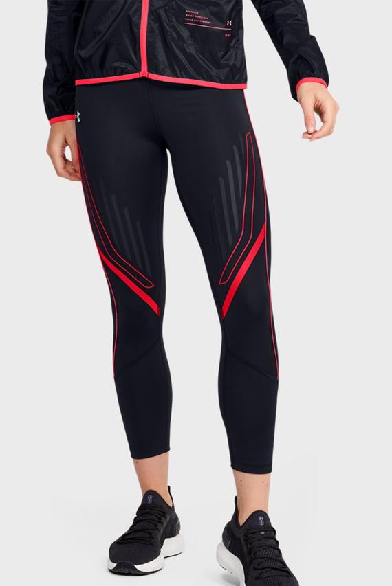 Женские черные тайтсы W UA SP Graphic Ankle Crop