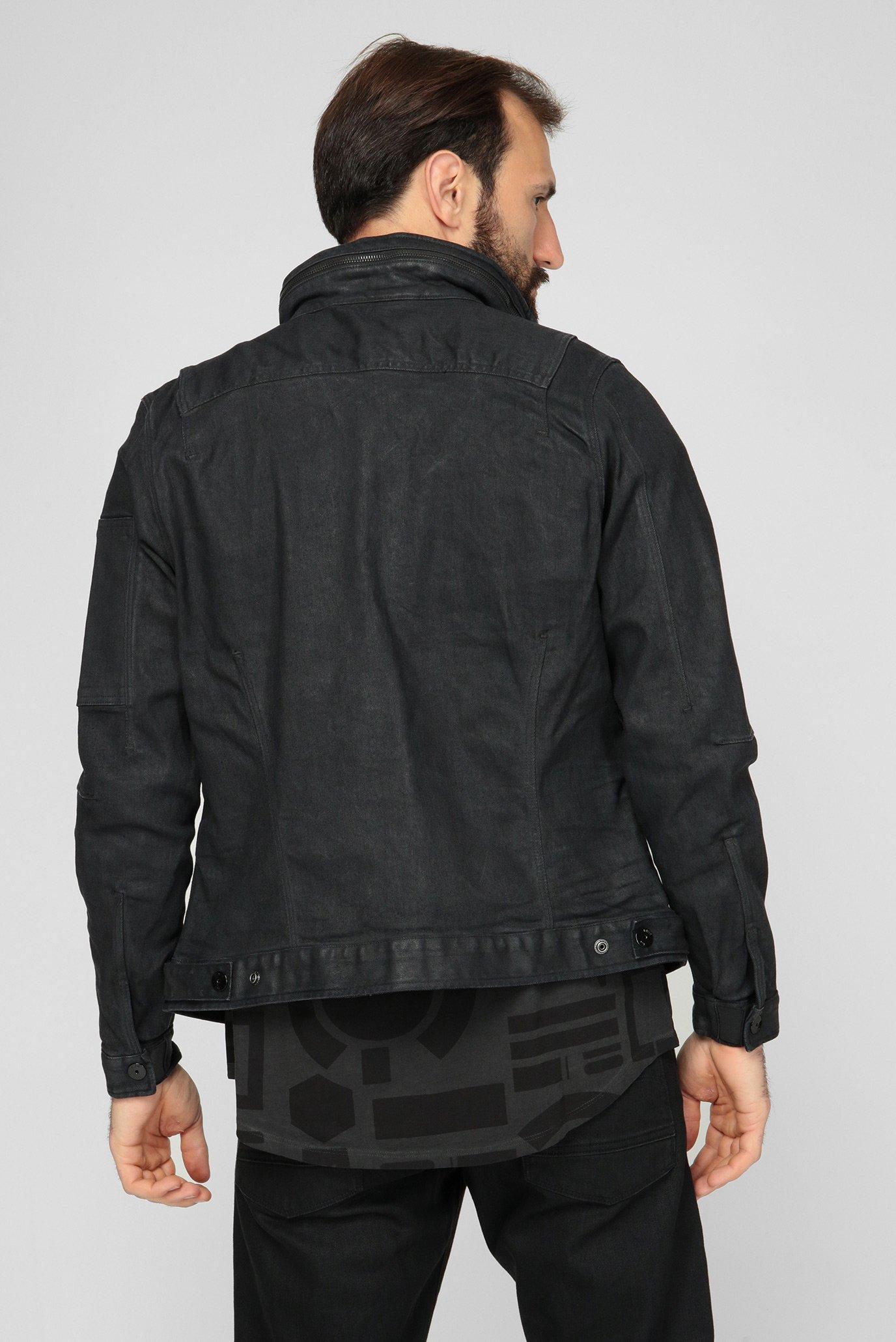 Мужская черная джинсовая куртка Citishield Zip G-Star RAW
