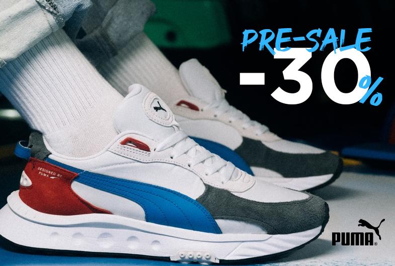 Pre-sale: -30% на PUMA