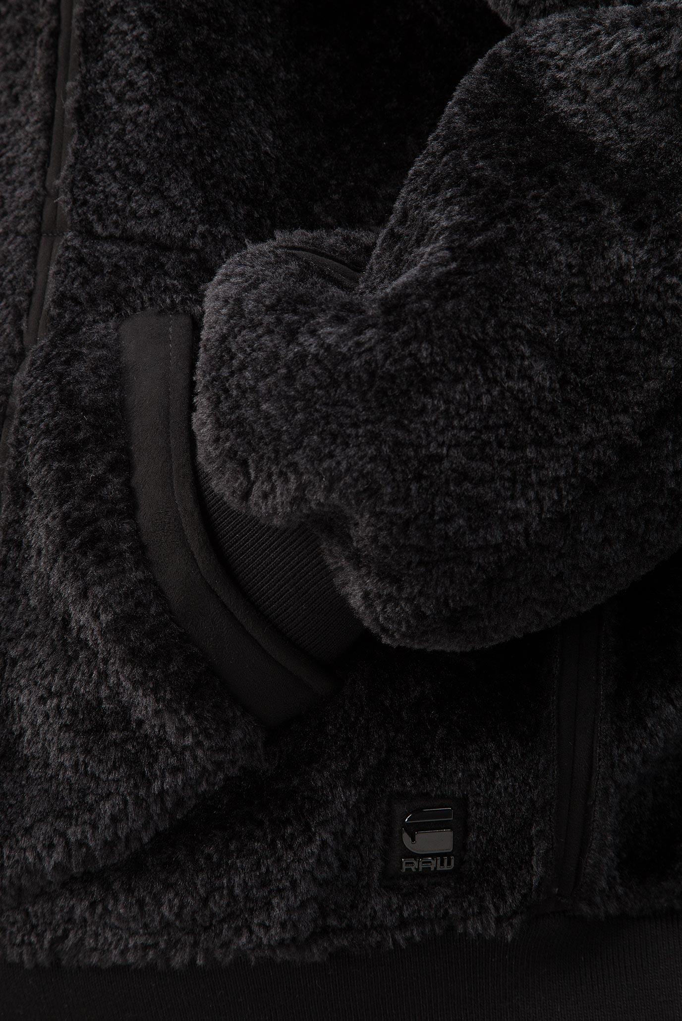 Купить Женский черный двусторонний бомбер Deline teddy  G-Star RAW G-Star RAW D10340,9096 – Киев, Украина. Цены в интернет магазине MD Fashion