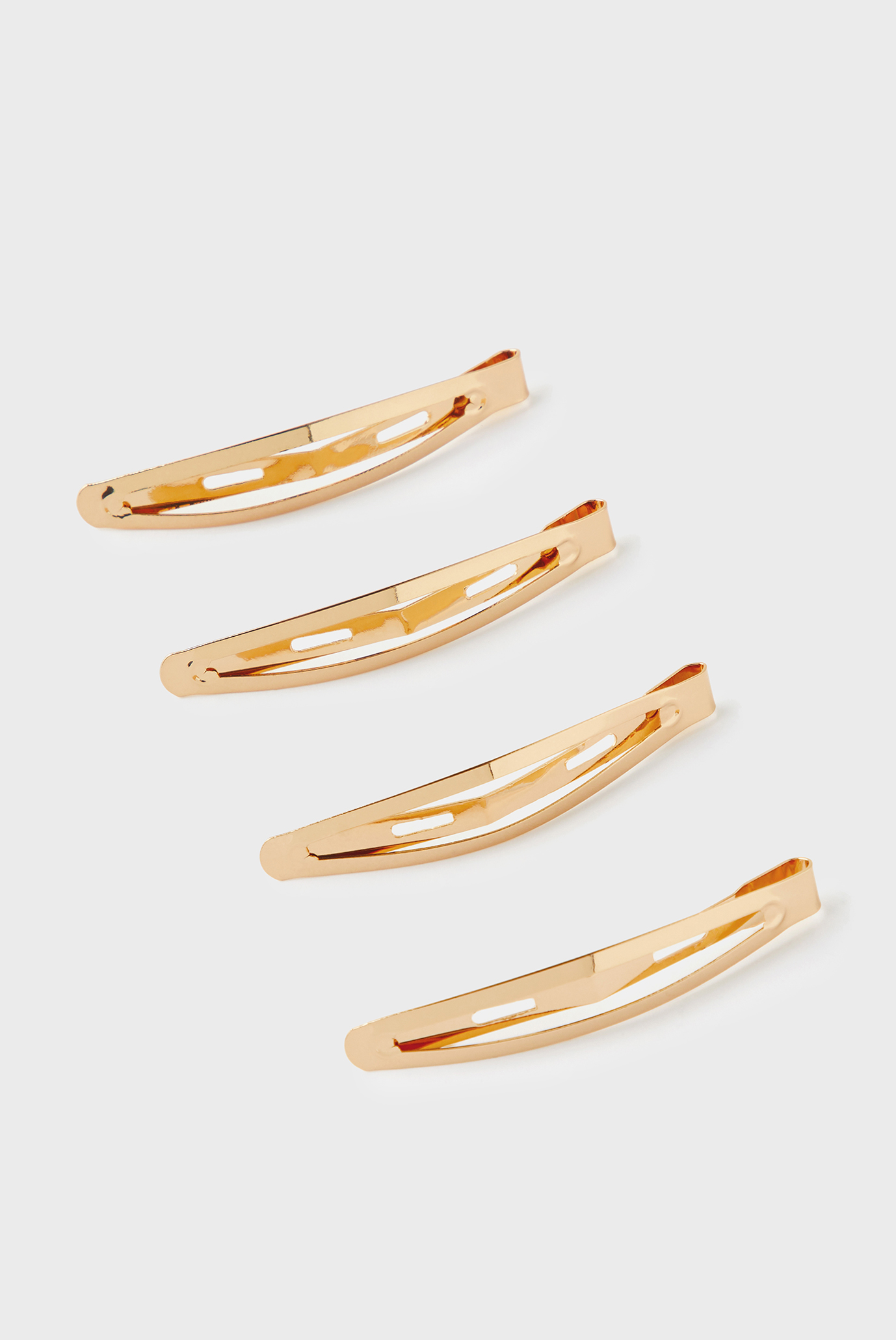 Жіночі золотисті шпильки (4 шт) SNAP CLIPS 1