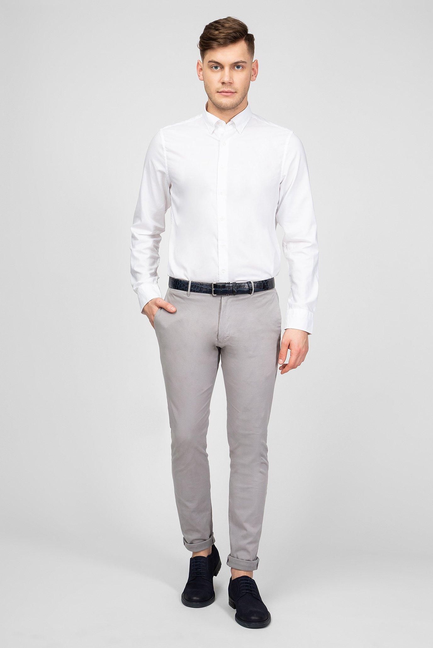 Мужская белая рубашка Gant